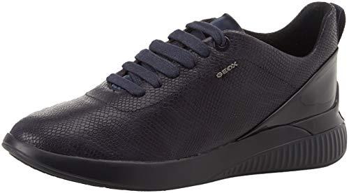 Geox D Theragon C, Zapatillas Mujer, Dk Navy C4078