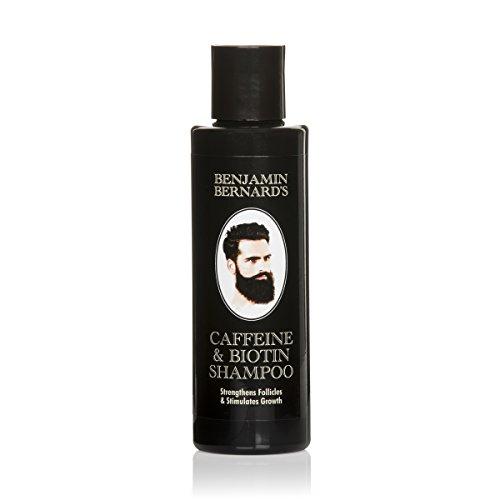 Koffein- & Biotin-Shampoo für Männer gegen Haarausfall von Benjamin Bernard - zur Stärkung der Haarfollikel & Förderung des Haarwachstums - ohne Sulfat, ohne Paraben - 150 ml