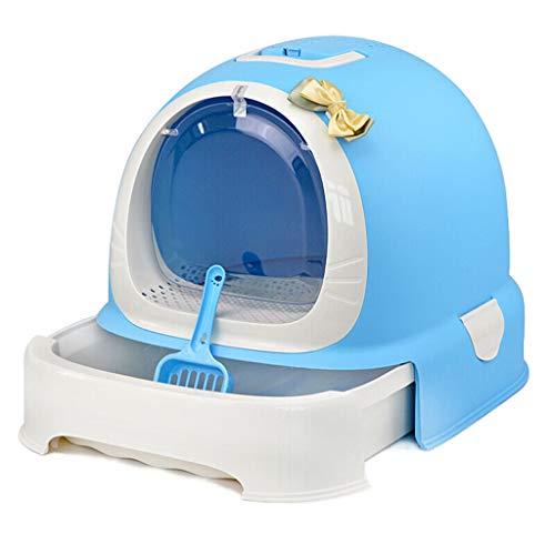 SuyunPP WC-Katzentoilette Becken Voll Geschlossenes WC Katzentoilette Katzentopf Deodorant...