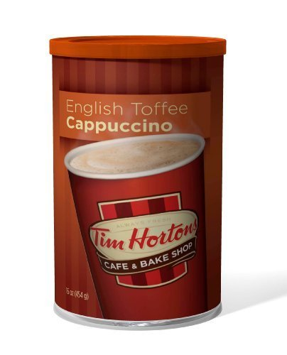tim-hortons-instant-cappuccino-english-toffee-16-ounce-by-tim-hortons