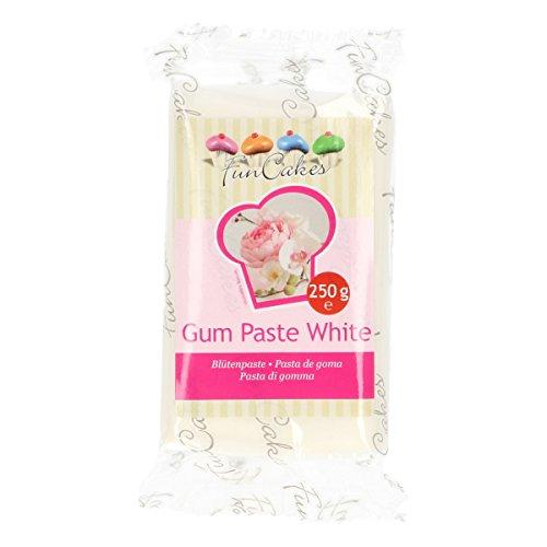 FunCakes Blütenpaste weiß, 3er Pack (3 x 250 g)
