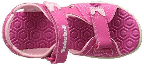 Timberland Adventure Seeker, Sandales mixte bébé Rose (Pink)