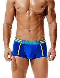 ddecb9059f49cb SEOBEAN Mens Low Rise Sexy Trunk Boxer Brief Underwear