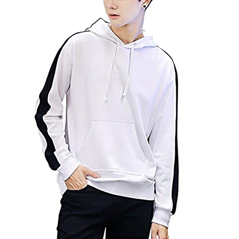 WALK-LEADER - Sweat-shirt à capuche - Homme - blanc - X-Small