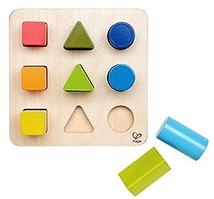 Hape- Puzzle Infantil Forma y Colores (Barrutoys E0426)