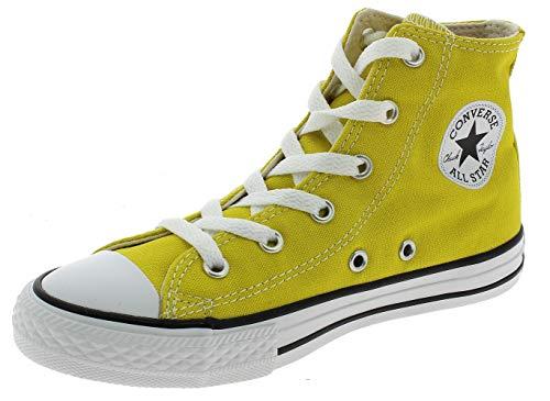 Converse CTAS Hi Chaussures DE Sport Enfant Jaune 663629