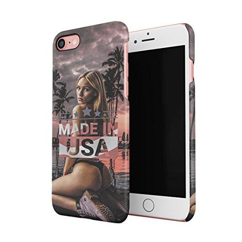 Relax Hot Model Girl On The Beach High Life Sommer Tropical Paradise Dünne Rückschale aus Hartplastik für iPhone 6 & iPhone 6s Handy Hülle Schutzhülle Slim Fit Case cover Made In USA