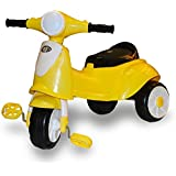 Akshat Kids Light & Music Retro Scooter Tricycle for Kids