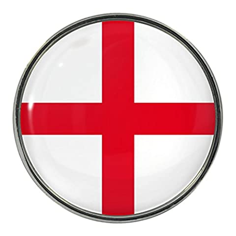 England St Georges Kreuz Flagge Design Pin