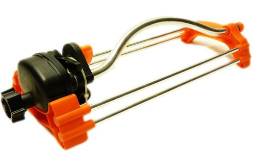 N&B ORANGE SPLASH QualitÃÃts RASENSPRENGER Sprinkler mit Multi-Feineintsellung C1-8