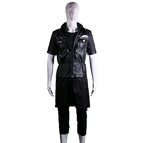 nihiug Final Fantasy 15 Cos Kleidung Noktis Lucis Galham Cosplay Kostüm,Black-M