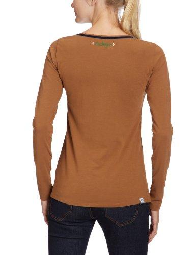 Maloja t-shirt genovevam Marron - noisette