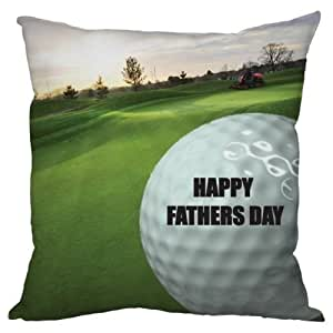 Fête des Pères Cadeau Balle de golf Motif Coussin fabriqué en Yorkshire Excellente idée de cadeau pour papa golfeur