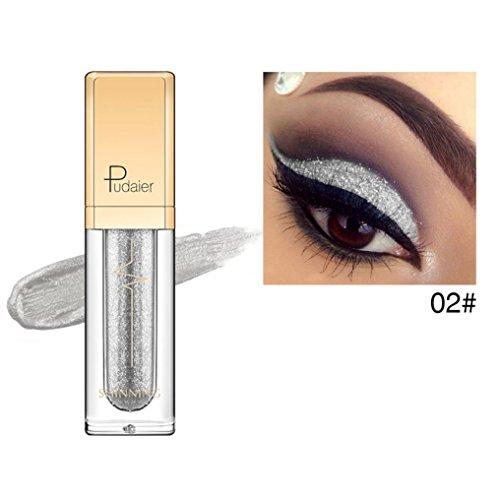 IGEMY Super begrüßte Pudaier Waterproof Black Liquid Eyeliner Stift, Eye Liner Bleistift Lidschatten Make-up (B) -
