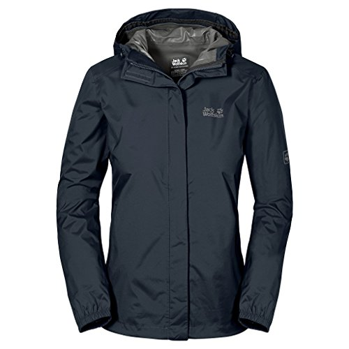 Jack Wolfskin Damen Hardshelljacke Cloudburst, night blue, L, 1104942-1076004