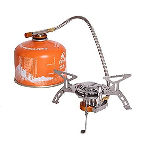 Lixada Fire Maple Portable Camping Gas Stove Outdoor Cooking Hiking Picnic Foldable Split Burner 2600W