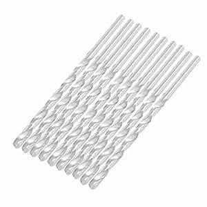 5.2mm x 133mm Metall Marble Bohren HSS Spiralbohrer 10 Stück