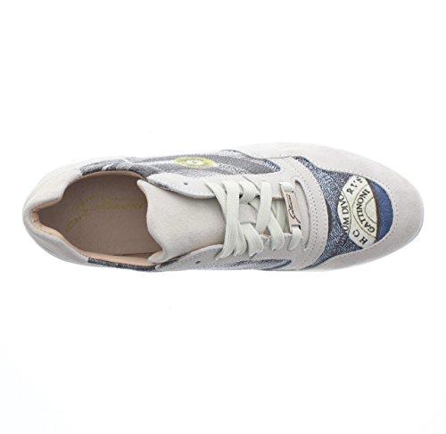 Gattinoni Scarpe Donna, Sneaker Woman Sport Suede, PEGVA6042WS, Camoscio, Modello Hogan, Lacci Ghiaccio