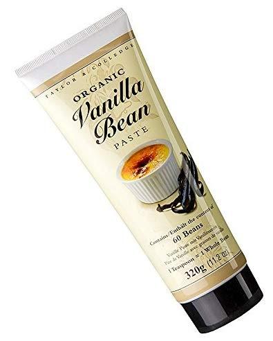 Taylor & Colledge Organic Vanilla Bean Paste 320g -