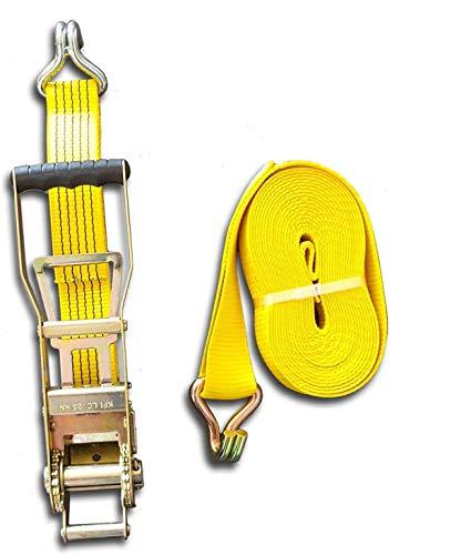 Trupa Spanngurt 5to 20m 50 mm Ergo-Langhebelzugratsche gelb