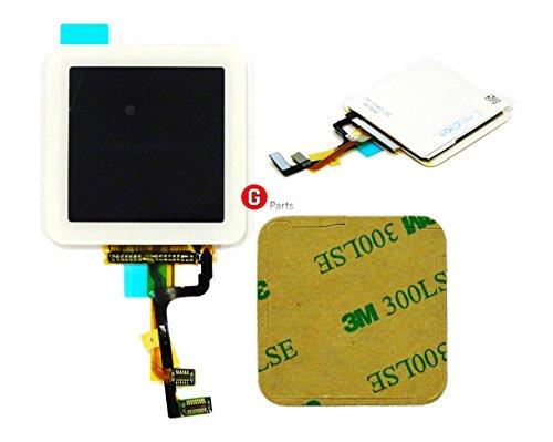LCD Display Touchscreen Glas Digitizer Einheit WEIß für iPod Nano 6 Generation -Ink Doppelseitigen 3M Klebestreifen NEU