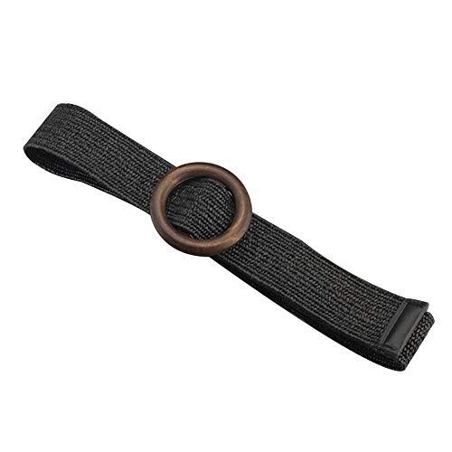 yummyfood Cinturón elástico Tejido, Cinturón Tejido elástico, Cinturones elásticos Trenzados Cinturones Anchos Vestido para Mujer Verano Primavera Múltiples Colores