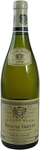 Beaune Gréves Le Clos Blanc Jahrgang 1998 - 0,75l Weisswein aus Frankreich