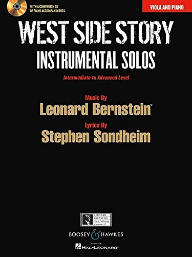 West Side Story: Viola and Piano: Instrumental Solos