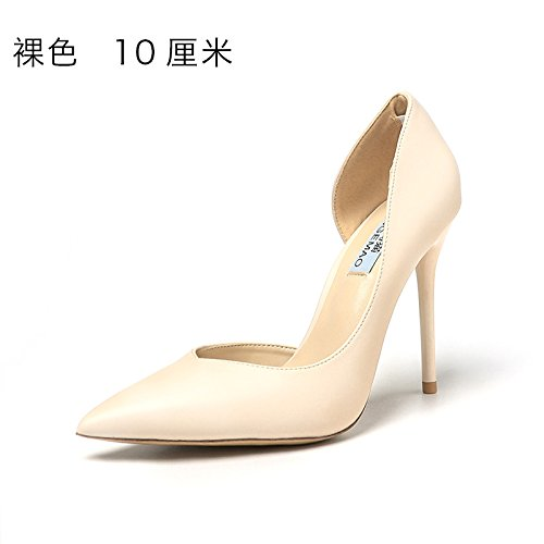 FLYRCX Ladies' sexy scarpe con i tacchi alti in autunno e inverno B