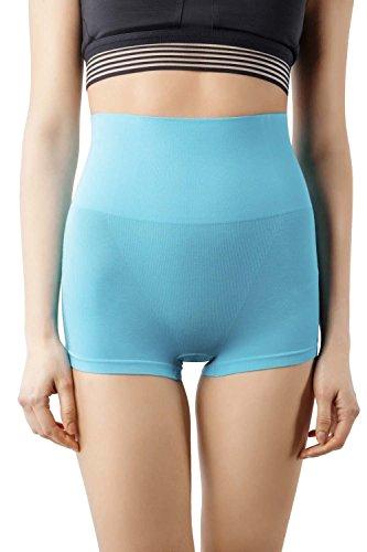 MD Shapewear Body Shaper Mädchen Slip Shaping Underwear Body Shape Unterwäsche Korallenblau