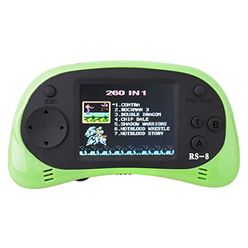 ZHISHAN Kids Classic Retro Handheld videoconsola consola de juegos 2,5