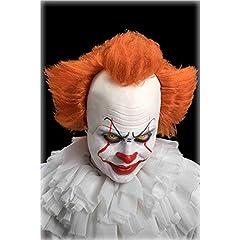 Idea Regalo - Carnival Toys Parrucca Clown Cattivo C/Calotta in Lattice in Busta C/Gancio 105, Multicolore, 8004761022778