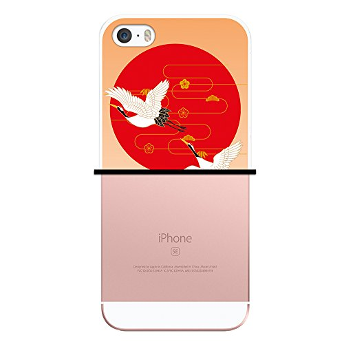 iPhone SE iPhone 5 5S Hülle, WoowCase Handyhülle Silikon für [ iPhone SE iPhone 5 5S ] Indischer Stil mit Elefanten-Muster Handytasche Handy Cover Case Schutzhülle Flexible TPU - Schwarz Housse Gel iPhone SE iPhone 5 5S Transparent D0090