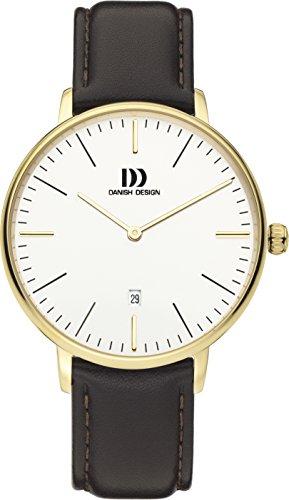 Danish Design Men's Analogue Quartz Watch with Leather Strap DZ120599