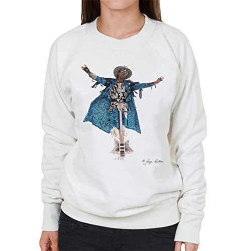 George DuBose Official Photography - Bootsy Collins Guitar Women's Sweatshirt