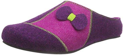 Rohde Salla-D, Pantofole non imbottite donna Viola (Violett (57 Amethyst))