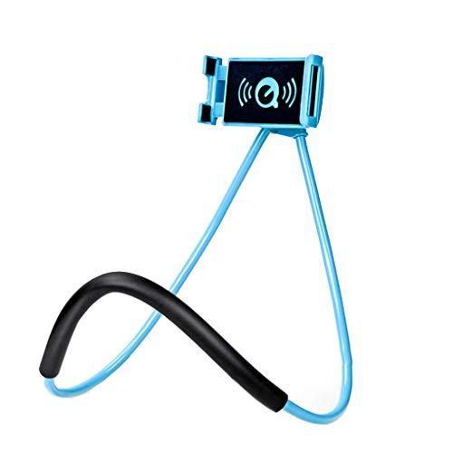 Provide The Best Desktop Flexible Handy-Halter 360 Grad drehbaren Clip-Mobiltelefon-Metall-Rack Hals Telefon-Support Bracket Ständer -
