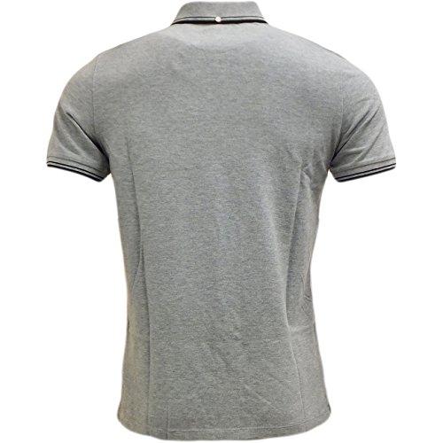 Ben Sherman Herren Poloshirt Polo-Shirt, Kragen, Bündchen Original Uni, S, M, L, XL, XXL Grau - Grau