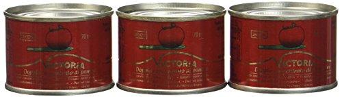 Victoria Concentré de Tomates Pack de 3 Boîtes x 70 g - Lot de 4