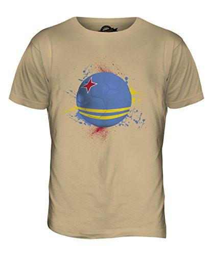 CandyMix Aruba Fußball Herren T Shirt Sand