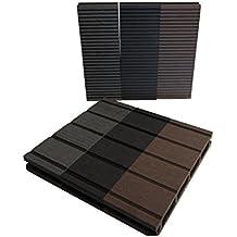 Wpc Terrassenplatten suchergebnis auf amazon de für kunststoff terrassenplatten set