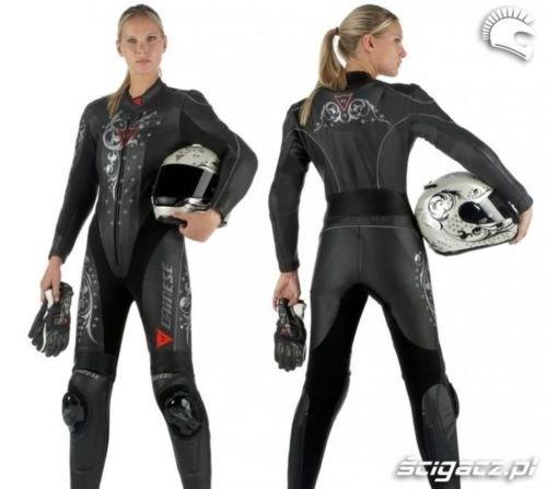 *Personalisierbarer Dainese Damen Motorrad Lederanzug für Frauen, jede Größe/Farbe*