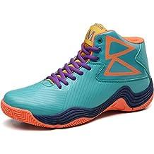 Hombres de Baloncesto Zapatos de Alta Top Botas Hombre Zapatillas Deportivas