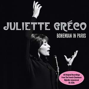 Bohemian In Paris by Juliette Greco (2012) Audio CD