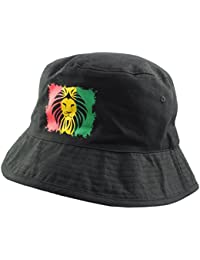 City Style Chapeau Hunter 'Rasta'Lion