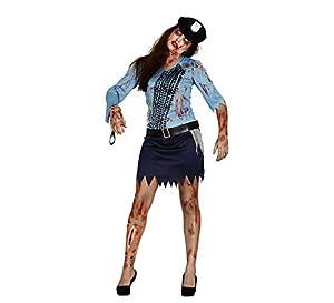 Guirca 84303 - Policia Zombie Adulta Talla M 38-40