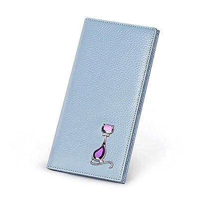 ZLR Mme portefeuille Portefeuille en cuir pour femme Nouveau portefeuille multifonctionnel Portefeuille multifonctionnel à grande capacité