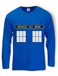 POLICE BOX doctor series Long Sleeve T-Shirt