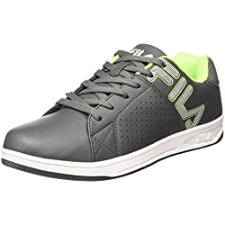 Fila Men's Hatty II Gry and Lim Sneakers - 7 UK/India (41 EU)(11004568)