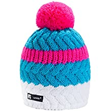 MFAZ Morefaz Ltd Unisex Winter Cappello Invernale di Lana Berretto Uomo  Donna Beanie Hat Sci Snowboard 2ac10496af53